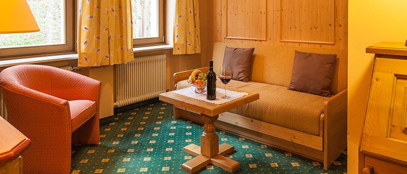 Landhotel St. Georg, Zell am See, Austria - junior suite seating area.jpg
